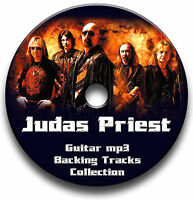 JUDAS PRIEST STYLE MP3 ROCK METAL GUITAR BACKING TRACKS COLLECTION JAM TRACKS CD