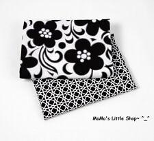 Beautiful Vera Bradley 100% Cotton Fabric(Night & Day) — 2 Matching Fat Quarters