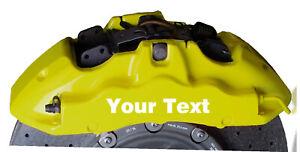 Customs calipers sticker /decals for Auto moto Etc..
