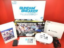USED excellent PS Vita ZA12 Wi-Fi Console GUNDAM Breaker Starter Pack