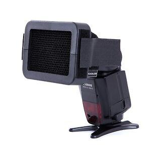 "Movo Photo SG14 1/4"" Honeycomb Quick Grid Universal Camera Flash Attachment"
