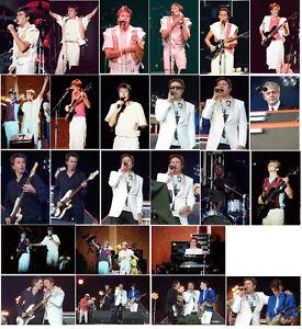 25 Duran Duran colour concert photos Birmingham 1983 & London 2010
