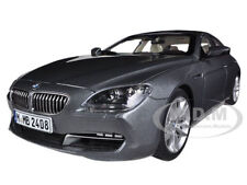 BMW 650i GRAN COUPE 6 SERIES F06 SPACE GREY 1/18  DIECAST MODEL BY PARAGON 97031