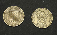 Old English Threepence for Spellwork & Prosperity Magic - Pagan, Wicca,