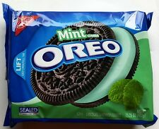 NEW Nabisco Oreo Mint Flavor Creme Cookies FREE WORLDWIDE SHIPPING