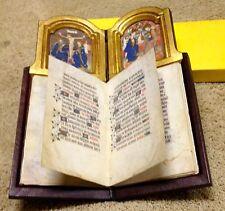 Facsimile - 15th Century Livre-autel de Phillippe le Bon