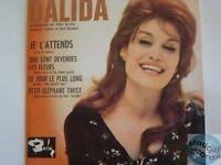 DALIDA JE L'ATTENDS CD SINGLE EP