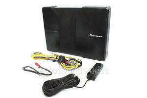 """NEW Pioneer TS-WH500A 150 Watt 8.25"""" Active Loaded Amplified Subwoofer Enclosure"""