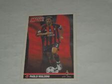 MILAN CALCIO-CARTOLINA FORZA MILAN 2003/2004 CALCIATORE PAOLO MALDINI CM. 10X15