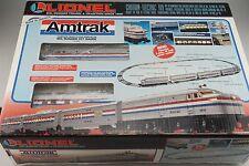 O-27 Scale Lionel 6-11748 Amtrak Train Set Alco Diesel 3 Passenger Cars 3-Rail