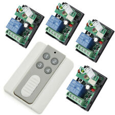 RF 24V 4X1Channel Relay Wireless Smart Remote Control Switch Home&Industry