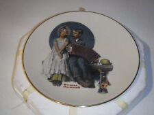 "1984 Norman Rockwell ""Accordionist"" Danbury Mint Plate, Original Box"