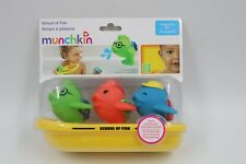 Munchkin Baby School of Fish Floating Bath Toy New