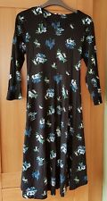 Redherring Maternity Dress Black Floral Print Size 8