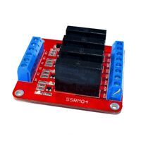 4 Channel 5V Solid State Relay Module SSR Switch with Fuse for Arduino