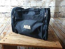 Nra Black & Gold Duffel Bag