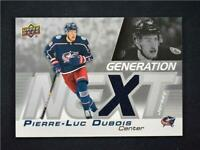 2019-20 Upper Deck Series 1 Generation Next Jersey Relic GN-16 Pierre Luc Dubois