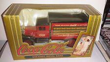 Ertl Coca-Cola 1937 Hawkeye Delivery Wagon Truck Die Cast Bank 1993