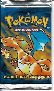 Pokemon 1999 Unopened Booster Pack CHARIZARD