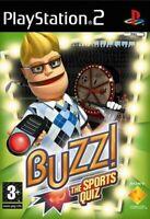 PS2 / Sony Playstation 2 Spiel - Buzz!: Das Sport-Quiz ENGLISCH mit OVP
