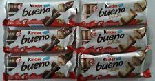 (3) Kinder Bueno Chocolate (3) Kinder Bueno White