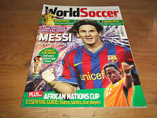 January World Soccer Magazines