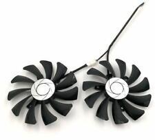 85mm MSI GTX1060 P106 Dual Fan Replacement 40mm 4Pin HA9010H12F-Z 12V 0.57A R220