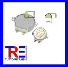 MOTORE TRASCINATORE PIATTO MICROONDE ALBERINO 17MM 220V-4W-50/60Hz 5 GIRI MINUTO