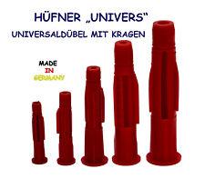 """HÜFNER Universaldübel """"UNIVERS"""" 5 -12 mm  mit und ohne Kragen - Mehrzweckdübel"""