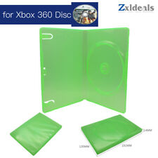 Replacement Case for XBOX 360 Game Disc Spare Green Box Single CD