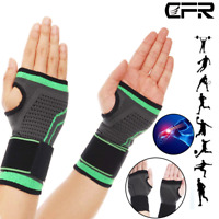 Wrist Brace Support Splint Carpal Tunnel Arthritis Sprain Pain Left Right Hand