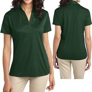 Ladies P.A. Moisture Wicking Dri Fit Polo Womens Shirt Golf Tennis Sizes XS-4XL