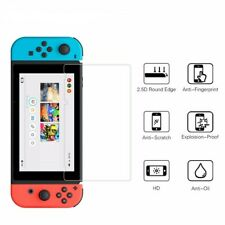 1 X Nintendo Switch Screen Protector Tempered Glass Kit 9h Cover Anti-scratch