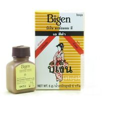 Bigen Powder Hair Color Permanent Black 6g No Ammonia Exp. 20
