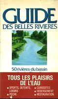 Livre guide des belles rivières 50 rivières du bassin Artois-Picardie book