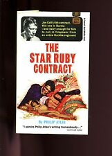 THE STAR RUBY CONTRACT - Joe Gall agent  by Philip Atlee  GGA, 1st SB VG