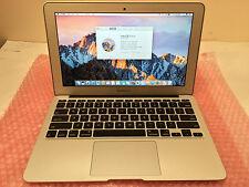 """Apple MacBook Air 6,1 11"""" Intel Core i5 @ 1.3GHz 256GB SSD 4GB RAM (Mid-2013)"""