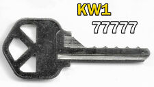 Kwikset (Kw1) Code Cut Key | Maximal Space and Depth Key | Cut 77777