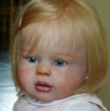 """Peggy By Regina Swialkowski New Reborn Toddler Doll Kit @28""""@Body Included"""