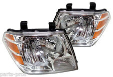 New Replacement Headlight Assembly PAIR / FOR 2009-2011 NISSAN FRONTIER