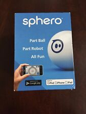 Sphero iOS and Android App Controlled Robotic Ball - Retail Packaging - WhiteNEW
