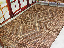 405x260 cm orient Teppich Afghan Uzbek Nomaden Planzenfarbe kelim kilim No:212