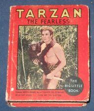 Tarzan The Fearless Big Little Book #769 Edgar Rice Burroughs 1934