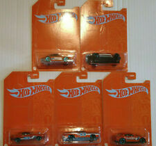 Hot Wheels Orange And Blue  53th Anniversary Dodge Ford Porsche  lot de 5 (Cart)