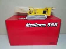 Manitowoc 555 Boom Crawler Crane - Yellow - CCM 1:50 Scale Model New!