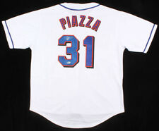 Mike Piazza signed New York Mets (Beckett COA) 1993 Rookie of the Year / Catcher