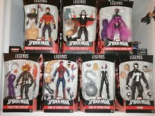 Marvel LEGENDS full Set of 7 ABSORBING MAN BAF New Gwen Venom EDGE spiderman