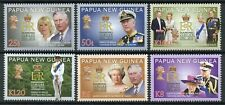 Papua New Guinea Royalty Stamps 2012 MNH Queen Elizabeth II Diamond Jubilee 6v