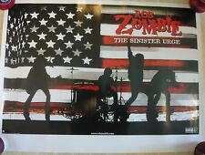 ROB ZOMBIE The Sinister Urge Rare Promo Poster