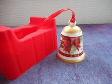 cloche de Noel en  porcelaine VILLEROY & BOCH